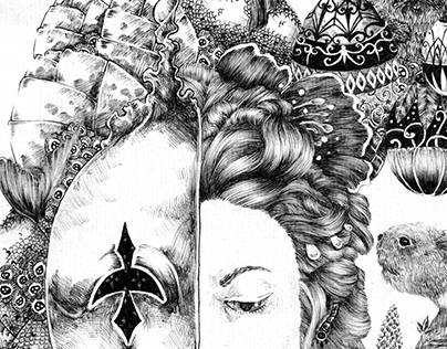 Ballpoint Pen Illustrations