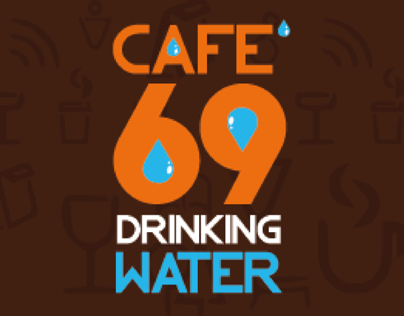 Label Drink Water Cafe69