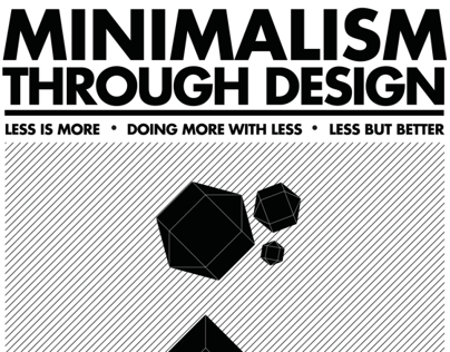 Minimalism through design
