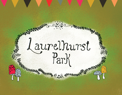 Laurelhurst Park - Illustrated Map