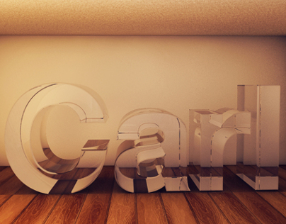 Glass effect in Cinema 4D