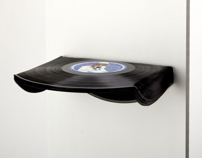 Record Remix- Shelving System