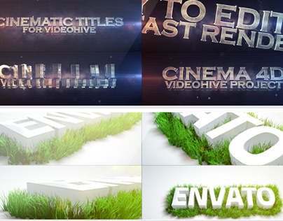 Cinema 4D Envato Projects