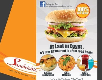 Sandwichini Fast Food @ Mall of Arabia