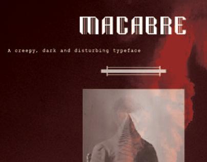 Macabre A Typeface