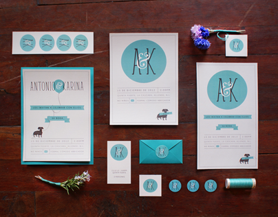 A&K - Wedding Invitations