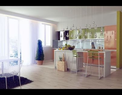 Kitchen Design for BOSH Contest 2011