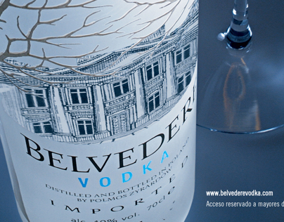 Invitation Belvedere Vodka