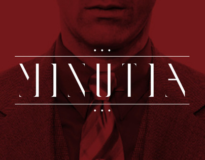 MINUTIA Display Typeface