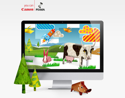 Canon PIXMA printer campaign