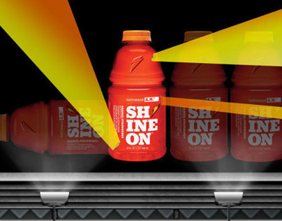 Gatorade SHINE ON™ Billboard