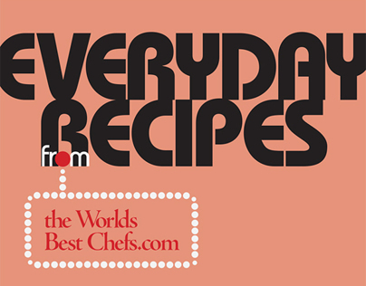 Everyday Recipes Layout Design