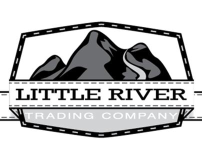 Logo Design for Little River Trading Company