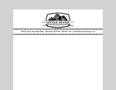 Branding Letterhead for Little River Trading Company