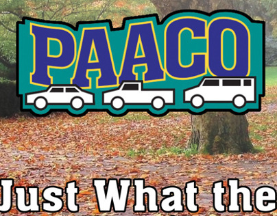 Paaco Used Car Billboard