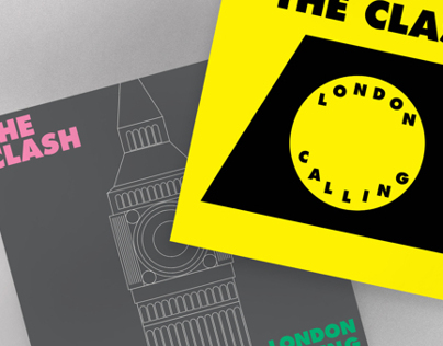 The Clash - London Calling/ alternative cover