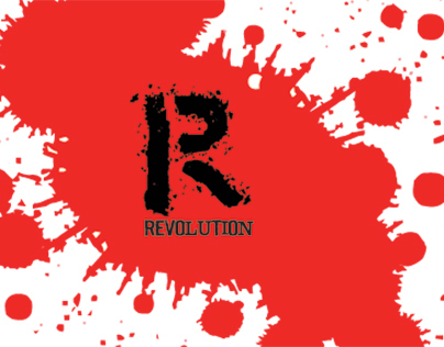 Revolution wine label