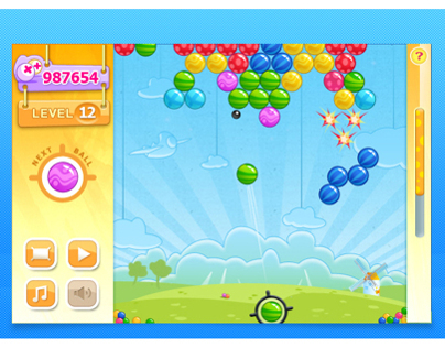 Bouncing Balls ART and UI