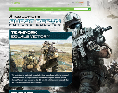 XBOX - Tom Clancys Ghost Recon: Future Soldier