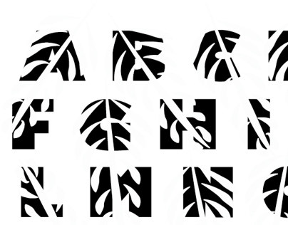 Feather Alphabet