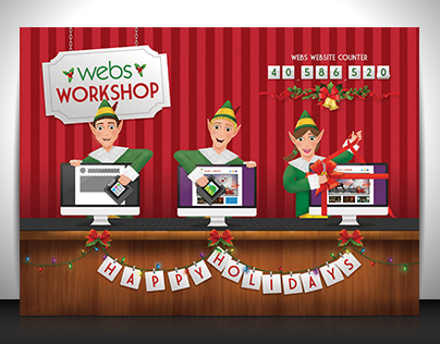 Webs Holiday Card