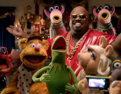 "Cee Lo feat. The Muppets ""All I Need is Love"""