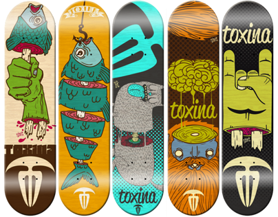 Toxina Skateboards
