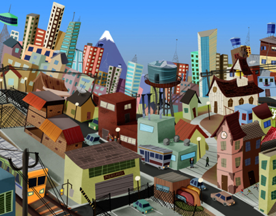 Childrens Book: The City Grows!