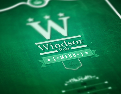 Windsor Pub Menu