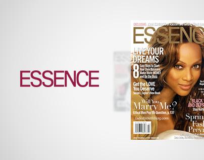 Essence.com Website, Time Warner