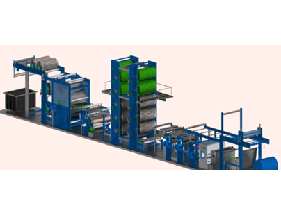Textile Machine 3D Animation