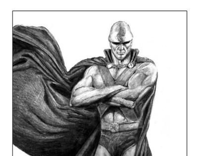 Illustration of Martian Manhunter