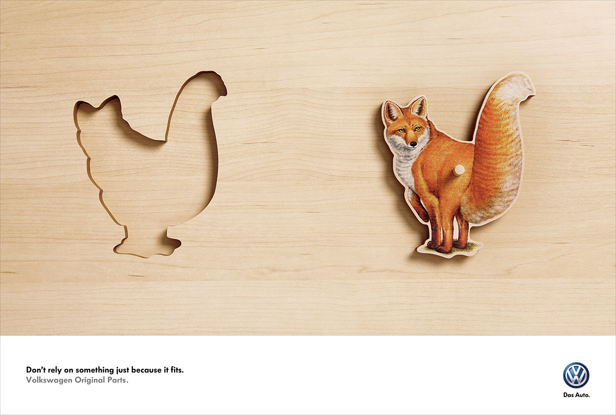 VW Original Parts / Gold Lion / Cannes Lions 2013