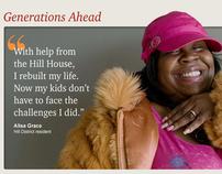 Hill House Association capital campaign website
