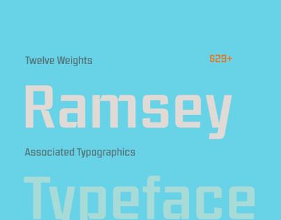 Ramsey Typeface Family