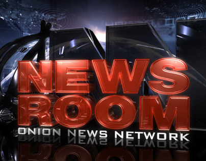 NewsRoom Logo Concept - The Onion