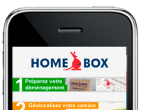Homebox iPhone app