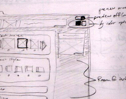 Sketches & Wireframes