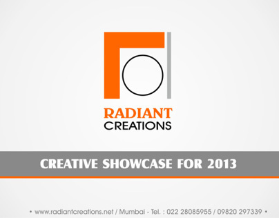 RADIANT CREATIONS SHOWCASE FOR 2013