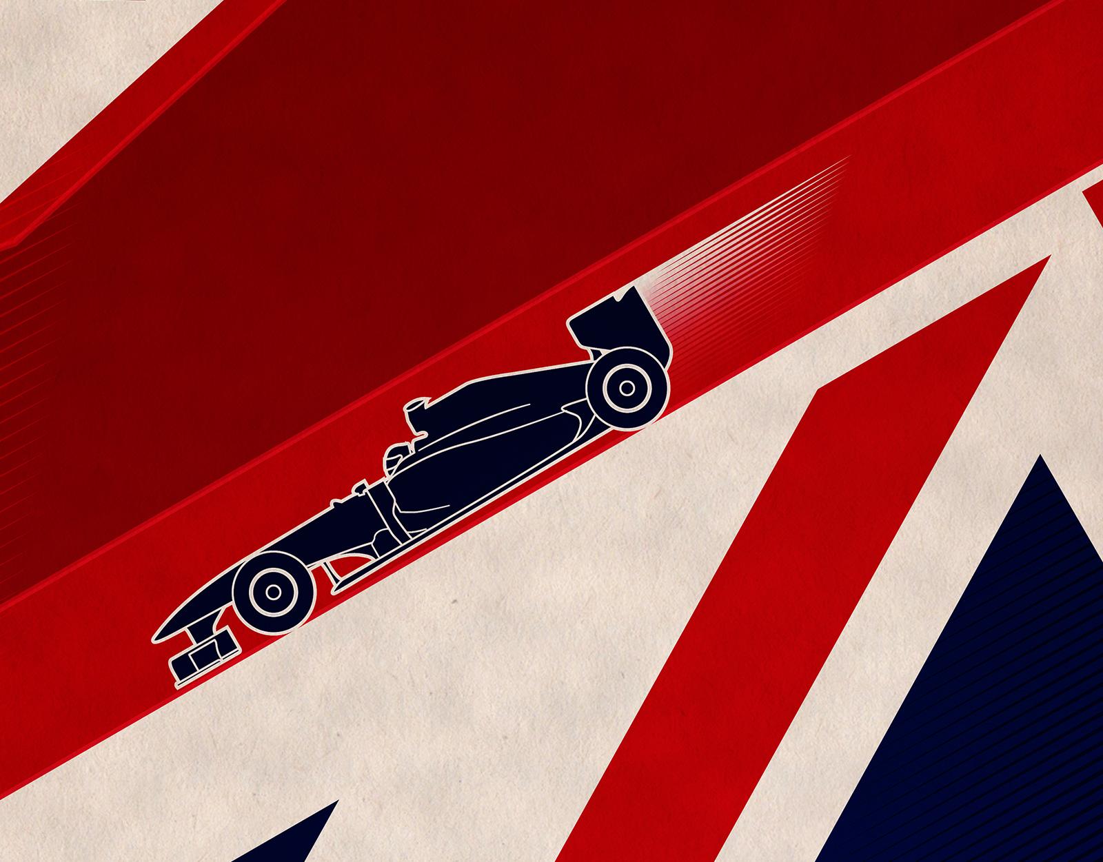 Formula 1 Poster Series
