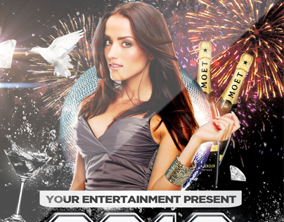 NYE 2013 Party - Flyer and Facebook Cover