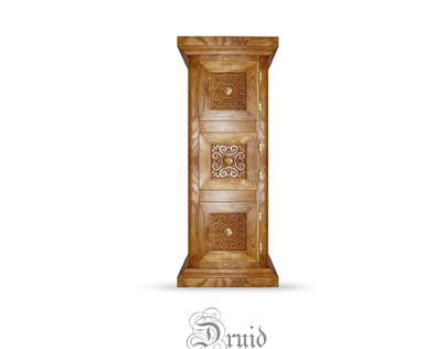 Druid, 2009, oak cupboard