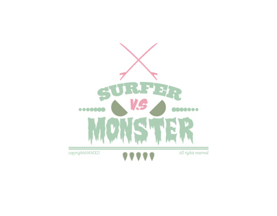 Surfer Vs Monster