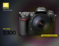Nikon Website Layouts & Concepts