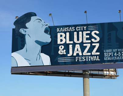 Kansas City Blues and Jazz Festival | Ad Campaign