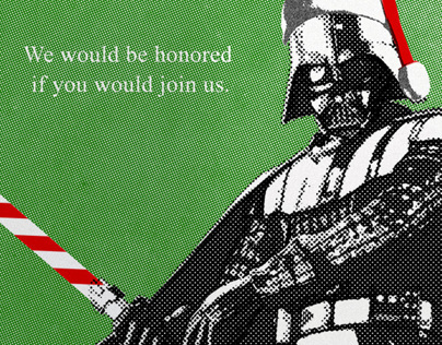 Star Wars Holiday Special - Vader & Candy Cane Saber