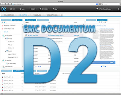 EMC Documentum D2