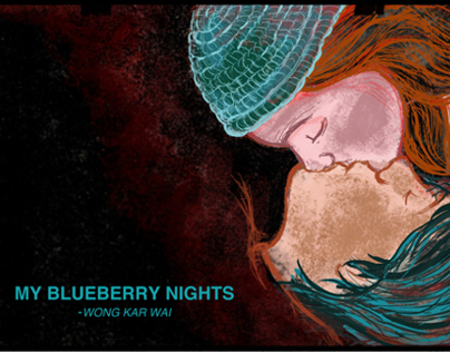 MOVIE POSTER-My Blueberry Nights