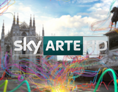 Sky Arte HD Channel Branding 2012