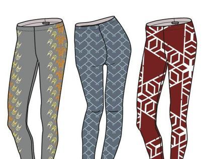 TRIBAL Pattern for Leggings